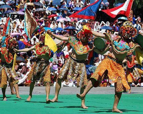 Thimphu Festival Bhutan