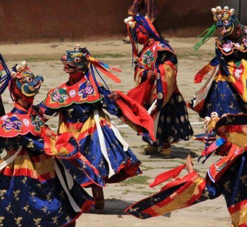 Trongsa Festival Bhutan