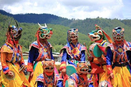 haa sumer festival mask dance