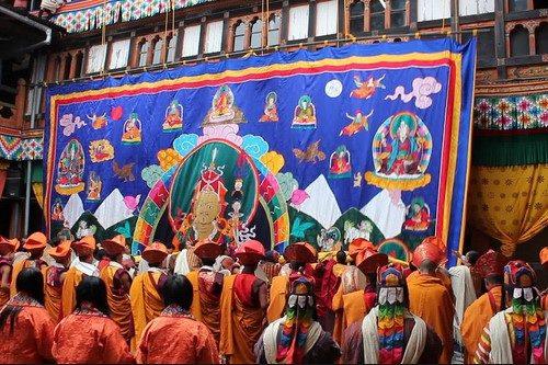bhutan-jakar tshechu-festival